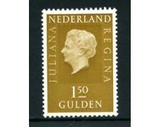 1969/73 - LOTTO/23888 - OLANDA - 1,5 GULDEN REGINA GIULIANA FLUORESCENTE - NUOVO