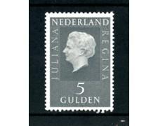 1969/73 - LOTTO/23890 - OLANDA - 5 GULDEN REGINA GIULIANA FLUORESCENTE - NUOVO