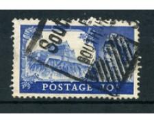 1955 - LOTTO/24027 - GRAN BRETAGNA - 10 S. CASTELLO DI EDIMBURGO - USATO