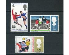 1966 - LOTTO/24040 - GRAN BRETAGNA - MONDIALI DI CALCIO 3v. - NUOVI