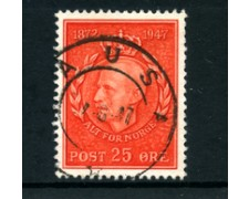 1947 - LOTTO/24057 - NORVEGIA - 75° COMPLEANNO DEL RE HAAKON - USATO