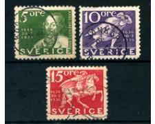 1936 - LOTTO/24065 - CENTENARIO POSTE 3v. - USATI