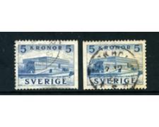 1941 - LOTTO/24068 - SVEZIA - 5 K. PALAZZO REALE  - USATI