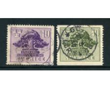 1945 - LOTTO/24072 - SVEZIA - CASSA DI RISPARMIO  GOTEMBORG 2v - USATI