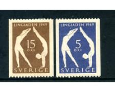 1949 - LOTTO/24076 - SVEZIA - EDUCAZIONE FISICA 2v. - LING.