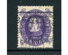 1930 - LOTTO/24088 - DANIMARCA - 7 o. COMPLEANNO RE CRISTIANO X - USATO