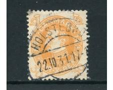 1930 - LOTTO/24089 - DANIMARCA - 30 o. COMPLEANNO RE CRISTIANO X - USATO