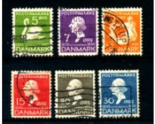 1935 - LOTTO/24091 - DANIMARCA - RACCONTI DI H.C.ANDERSEN 6V. - USATI
