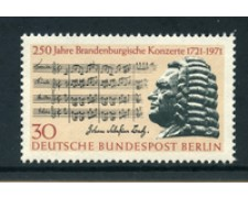 1971 - LOTTO/24131 - BERLINO - CONCERTI BRANDEMBURGHESI - NUOVO