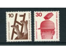 1972 - LOTTO/24132 - BERLINO - PREVENZIONE INCIDENTI 2v. - NUOVI