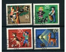 1972 - LOTTO/24133U - BERLINO - PROTEZIONE ANIMALI 4v. - NUOVI