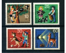 1972 - LOTTO/24133 - BERLINO - PROTEZIONE ANIMALI 4v. - NUOVI