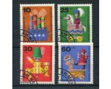 1971 - LOTTO/24134U - BERLINO - BENEFICENZA GIOCATTOLI 4v. - USATI