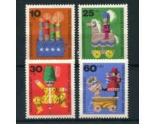1971 - LOTTO/24134 - BERLINO - BENEFICENZA GIOCATTOLI 4v. - NUOVI