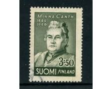 1944 - LOTTO/24160 - FINLANDIA - MINNA CANTH - USATO