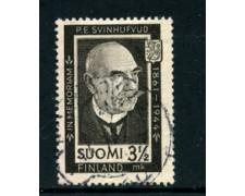 1944 - LOTTO/24161 - FINLANDIA - PRESIDENTE SVINHUFVUD 1 v. - USATO