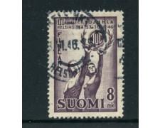 1946 - LOTTO/24164 - FINLANDIA - LEGA SPORTIVA DEI LAVORATORI 1v. - USATO