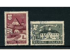 1946 - LOTTO/24167 -  FINLNDIA - CITTA' DI PORVOO 2v.- USATI