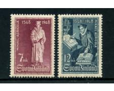 1948 - LOTTO/24173 - FINLANDIA - PRIMA EDIZIONE DEL NUOVO TESTAMENTO 2v. - LING.