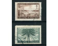 1949 - LOTTO/24175 - FINLANDIA - CONGRESSO FORESTALE 2v. - USATI