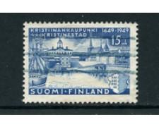 1949 - LOTTO/24176 - FINLANDIA - CITTA' DI KRISTIIANANKAUP - USATO