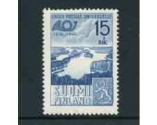 1949 - LOTTO/24179 - FINLANDIA - 75° ANNIVERSARIO U.P.U. - LING.