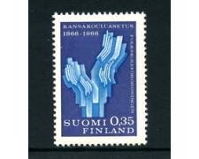 1966 - LOTTO/24180 - FINLANDIA - CENTENARIO SCUOLE 1v. - NUOVO
