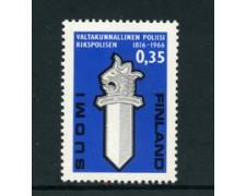 1966 - LOTTO/24181 - FINLANDIA  - 150° DEL CORPO DI POLIZIA - NUOVO