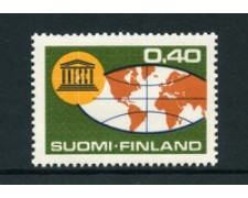1966 - LOTTO/24182 - FINLANDIA - 20° ANNIVERSARIO  UNESCO - NUOVO