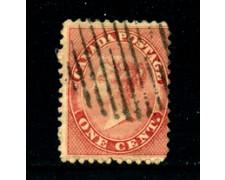1859 - LOTTO/24250A - CANADA - 1 CENT. REGINA VITTORIA - USATO