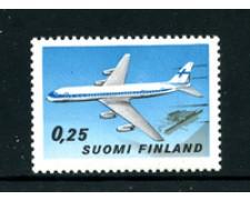 1969 - LOTTO/24211 . FINLANDIA - 50°  AVIAZIONE - NUOVO