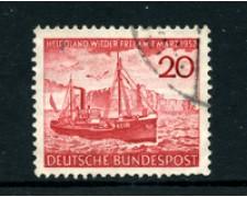 1952 - LOTTO/24235 - GERMANIA FEDERALE - RESTITUZIONE HELIGOLAND - USATO