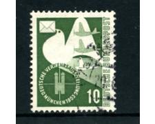 1953 - LOTTO/24240 - GERMANIA FEDERALE - 10p. ESPO TRASPORTI - USATO