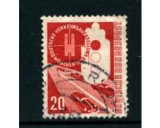 1953 - LOTTO/24241 - GERMANIA FEDERALE - 20p. ESPO TRASPORTI - USATO