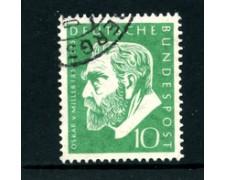 1955 - LOTTO/24243 - GERMANIA FEDERALE - 10p. VON MILLER  - USATO