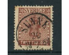 1858 - LOTTO/24278 - SVEZIA - 30 ORE BRUNO - USATO