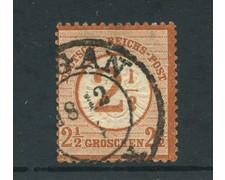 1874 - LOTTO/24280 - GERMANIA - 2,5 SU 2,5 BRUNO ROSSO - USATO