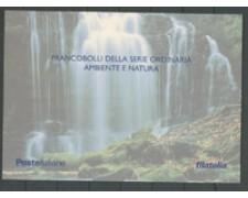 2001 - LOTTO/24301 - REPUBBLICA - AMBIENTE E NATURA - FOLDER POSTE
