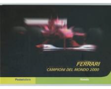 2001 - LOTTO/24304 - REPUBBLICA - FERRARI CAMPIONE DEL MONDO - FOLDER POSTE