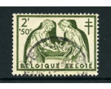 1956 - LOTTO/24368 - BELGIO - 2+50c.  PRO OPERA ANTITUBERCOLARE - USATO