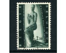 1957 - LOTTO/24370 - BELGIO - 4° BIENNALE DELLA SCULTURA - USATO