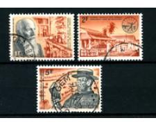 1964 - LOTTO/24387 - BELGIO - GIORNATA MONDIALE LEBBROSI 3v. - USATI