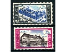 1964 - LOTTO/24395 - BELGIO - ABBAZIA DI  LE PAND 2v. - USATI