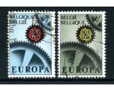 1967 - BELGIO - LOTTO/24419 - EUROPA 2v. - USATI