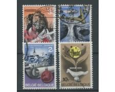 1968 - BELGIO - LOTTO/24422 - SERIE STORICA 4v. - USATI