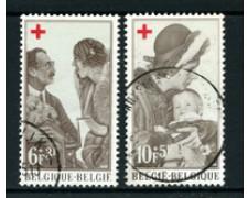 1968 - BELGIO - LOTTO/24423 - PRO CROCE ROSSA 2v. - USATI