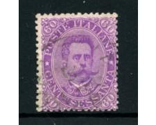 1889 - LOTTO/24438 - REGNO - 60cent. VIOLETTO UMBERTO I° - USATO