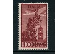 1955 - LOTTO/24439 - REPUBBLICA - 1000 LIRE POSTA AEREA - NUOVO