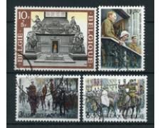 1968 - BELGIO - CINQUANTENARIO DELLA VITTORIA 4v. - USATI