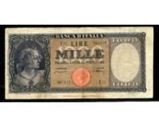 1947 - REPUBBLICA - LOTTO/24473 -  1000 LIRE BUSTO DELL'ITALIA -
